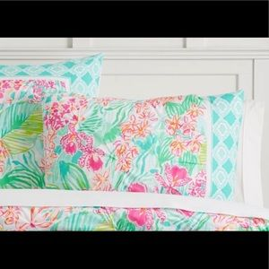 Lilly Pulitzer pillowcase